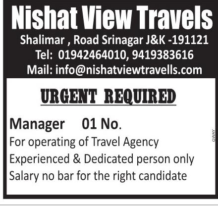 Nishat view travels