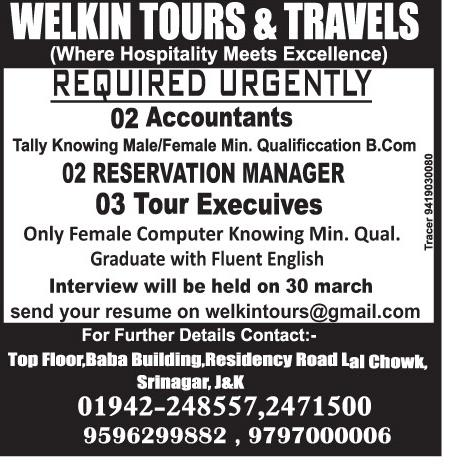 Welkin Tours & travels