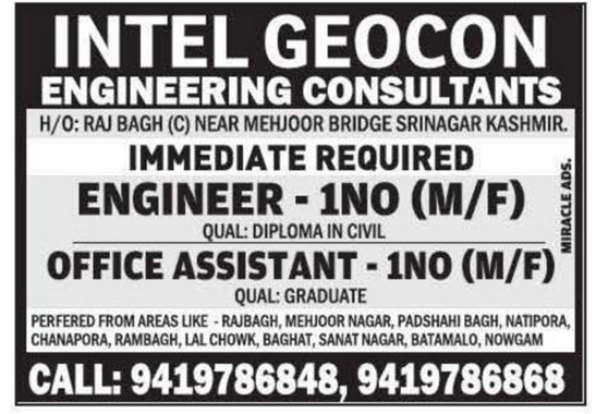INTEL GEOCON ENGINEERING CONSULTANTS