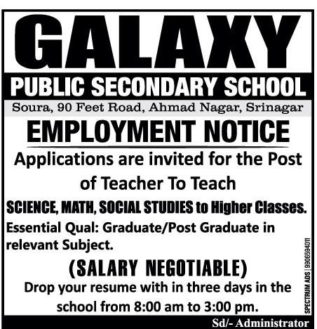 Galaxy Public secondary school