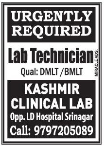 Kashmir clinical lab