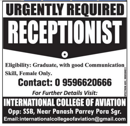 International College Of Aviation