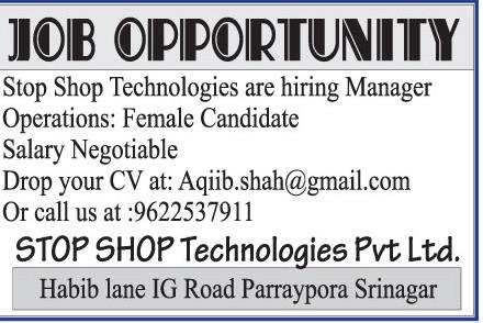 Shop Shop Technologies pvt ltd
