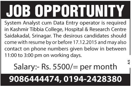 Kashmir tibia college, hospital & research center