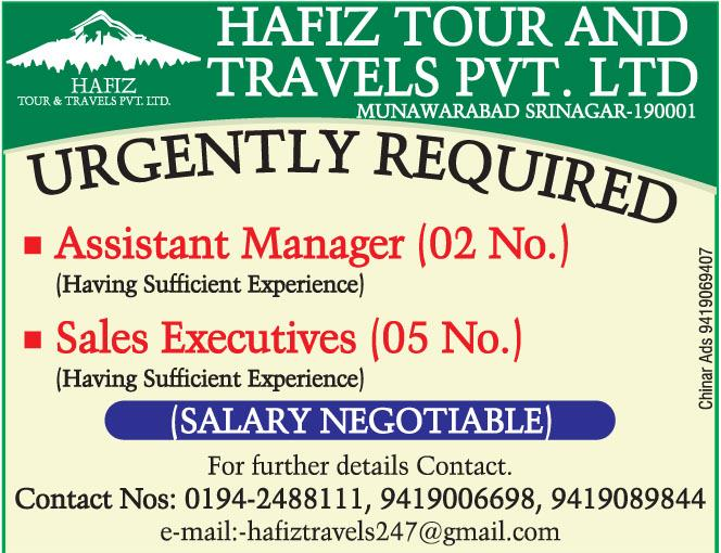 Hafiz Tour and travels pvt ltd