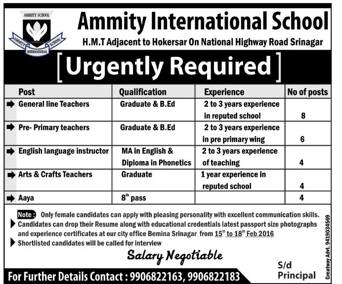 Ammity International School