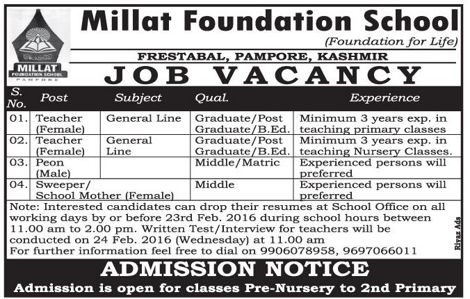 Millat Foundation School