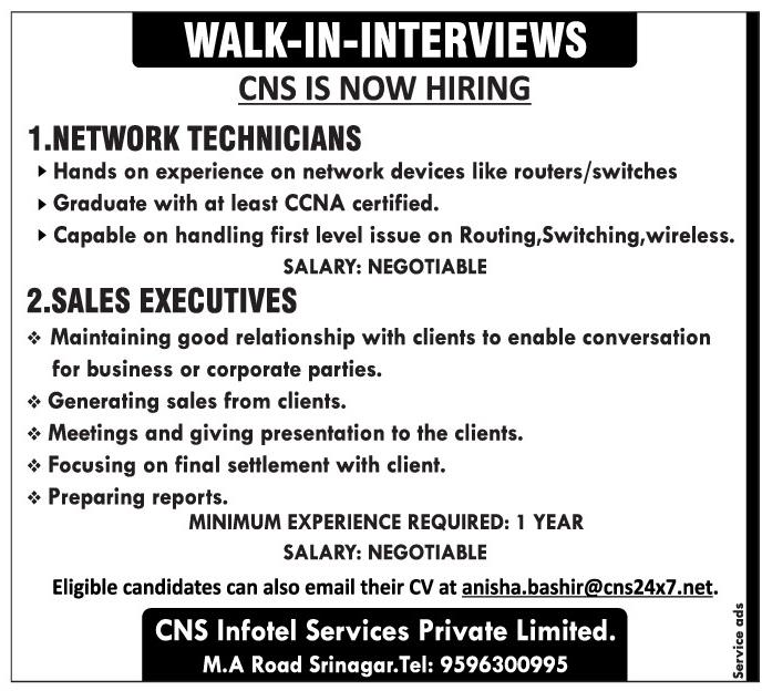 CNS Infotel Services Private Limited.