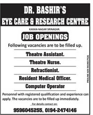 Dr. Bashir eye care  Research center