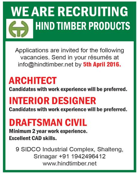 Hind timber products