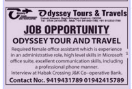 Odyssey  tours  & Travels