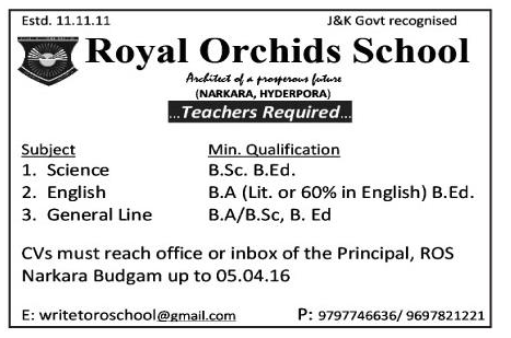 Royal Orchids School
