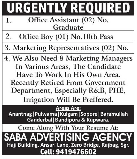 Saba Advertising agency