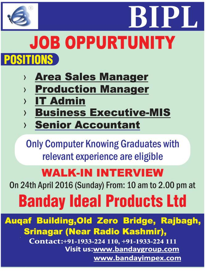 Banday Ideal Products Ltd