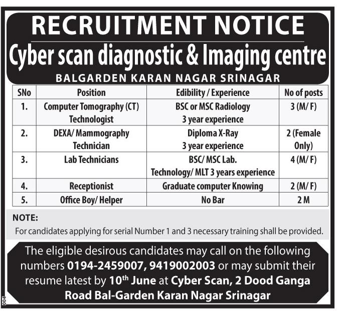 Cyber scan diagnostic & Imaging center