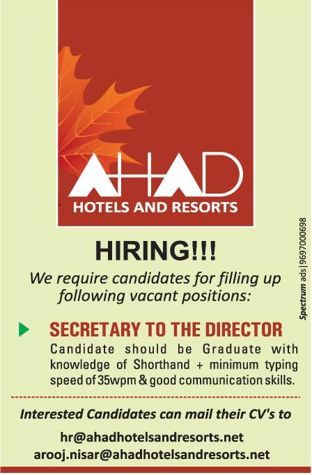 AHAD Hotels And Resorts