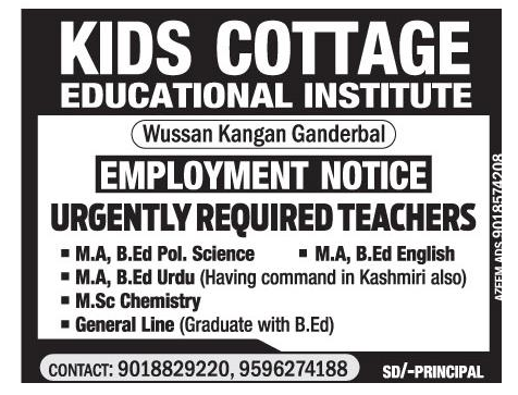 Kids cottage  educational institute
