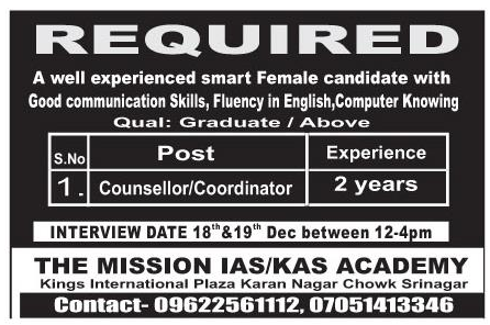 The mission ias/kas academy