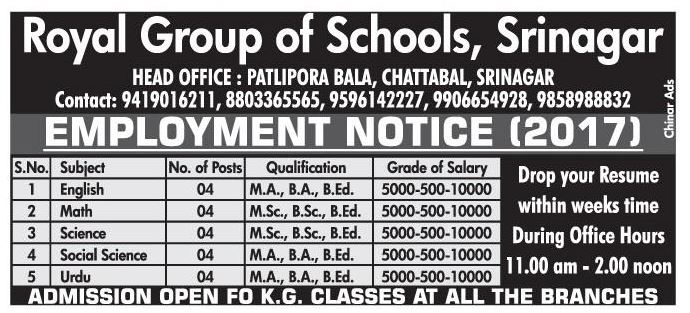 Royal Group Of Schools
