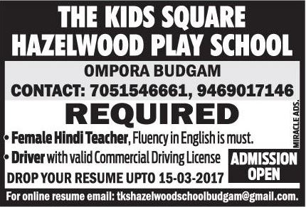 THE KIDS SQUARE HAZELWOOD PLAY SCHOOL