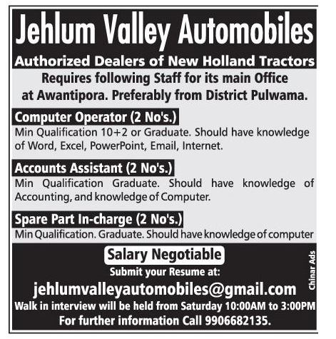 Jehlum Valley Automobiles