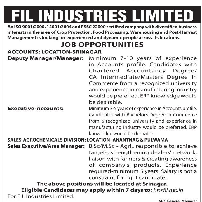 Fil Industries Limited
