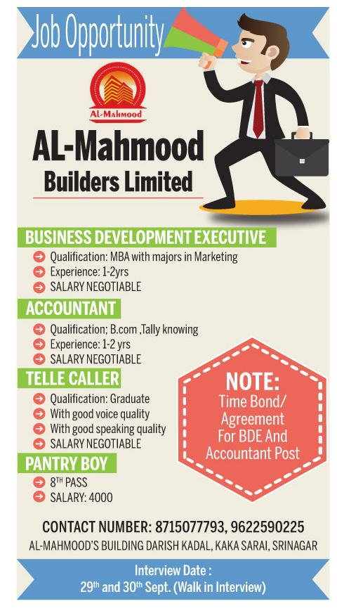 Al-Mahmood Builders limited