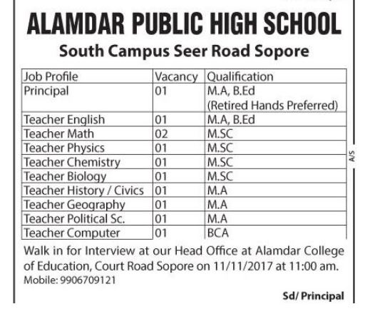 Alamdar public High School