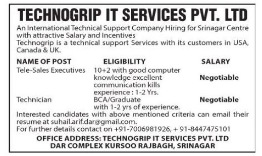 Technogrip It Services Pvt.Ltd