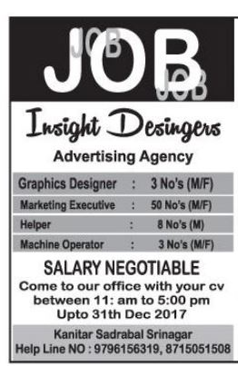 Insight Designers Advertising Agency