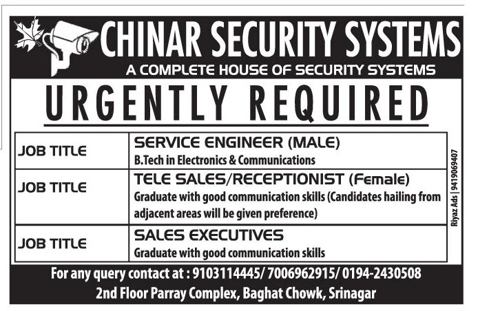 Chinar Security Systems