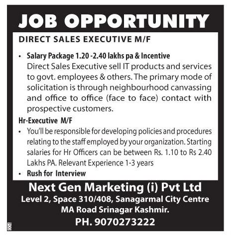 Next Gen Marketing (i) Pvt Ltd