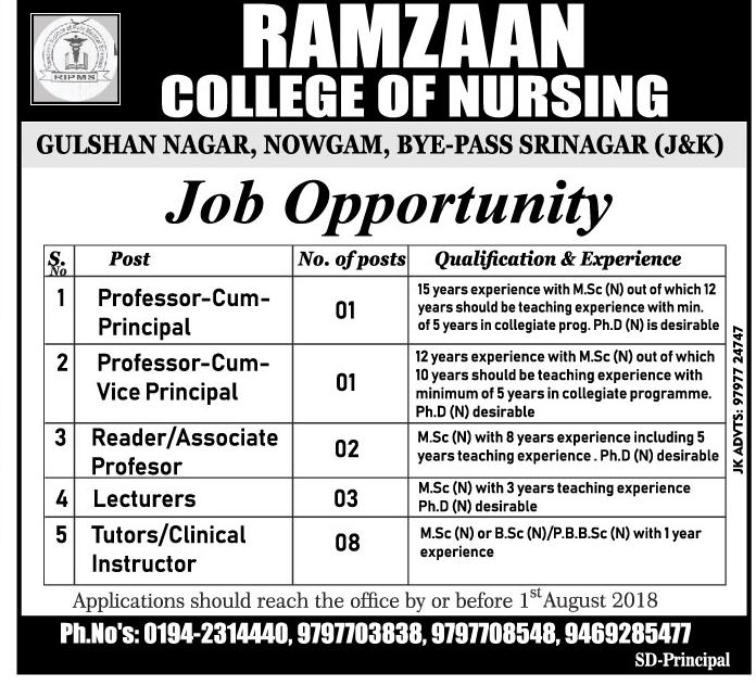 Ramzaan College of Nursing