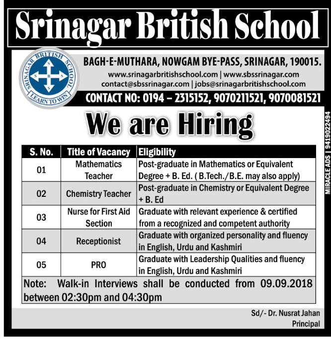 Srinagar British School