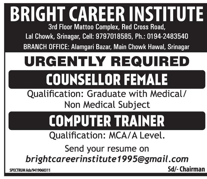 Bright career Institute