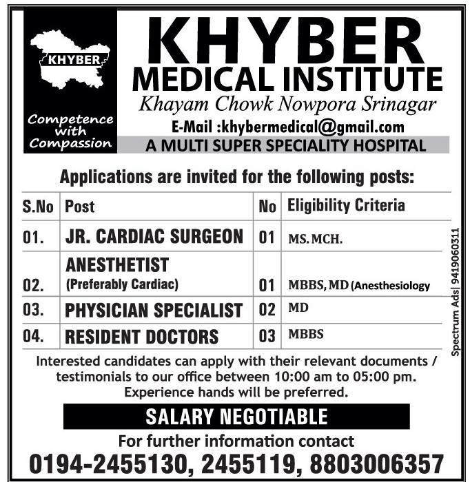 Khyber medical institute