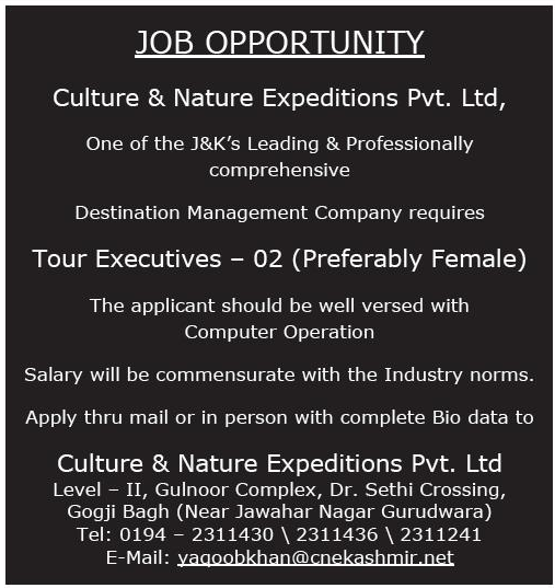 Culture & Nature Expeditions Pvt Ltd