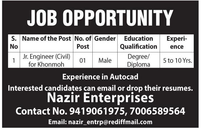 Job In Nazir Enterprises
