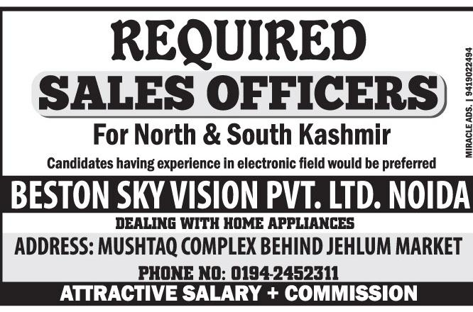 Jobs in Beston Sky Vision Pvt Ltd .Noida